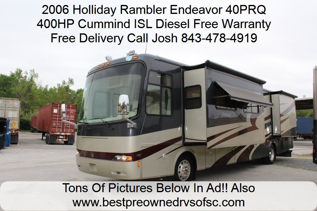 2006 Holiday Rambler Endeavor 40PRQ Diesel