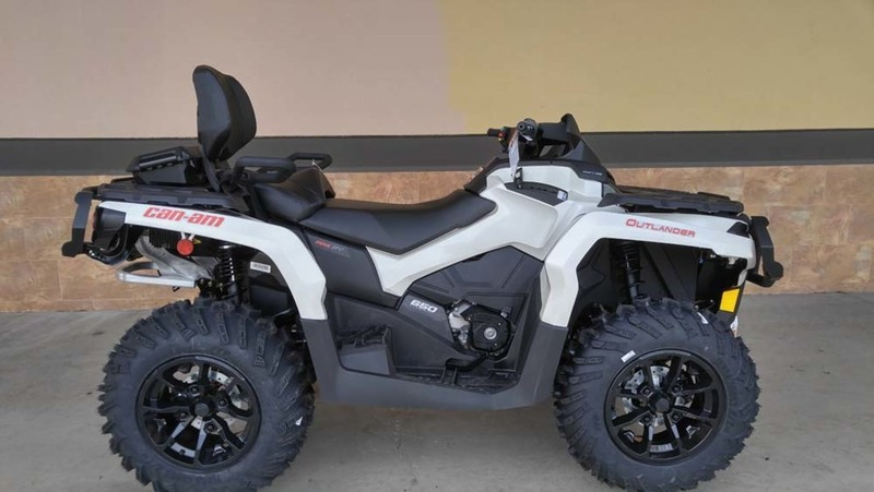 2017 Can-Am Outlander MAX XT 650 Brushed Aluminum