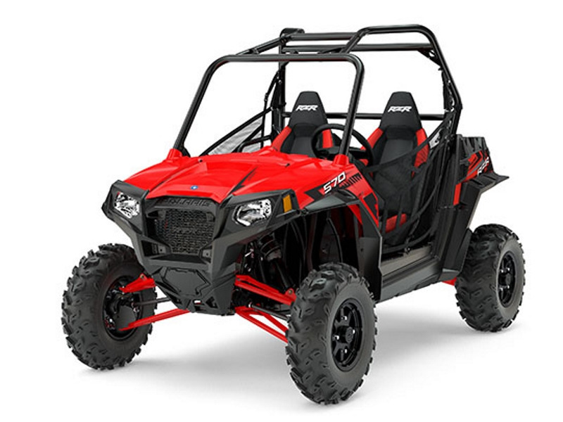 2017 Polaris RZR S 570 EPS Indy red