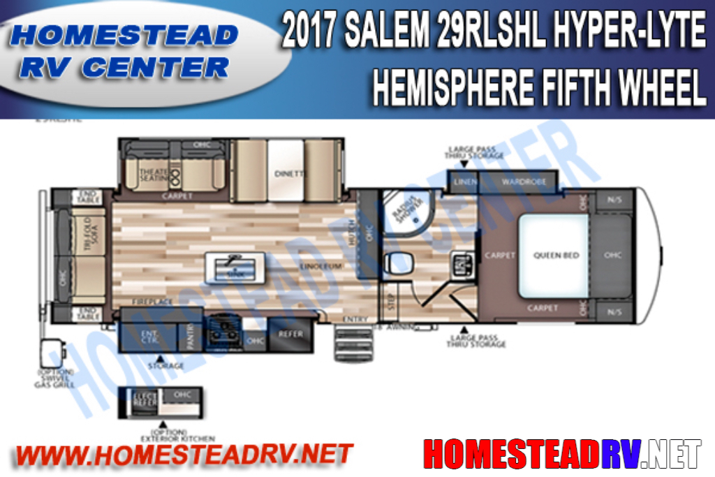 2017 Salem 29RLSHL HYPER-LYTE HEMISPHERE