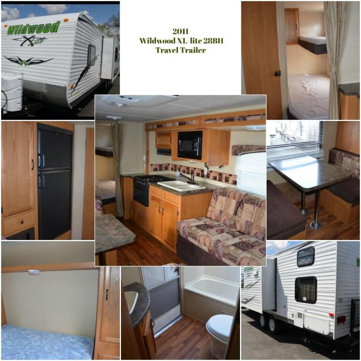 2011 Forest River WILDWOOD X-LITE 28BHXL