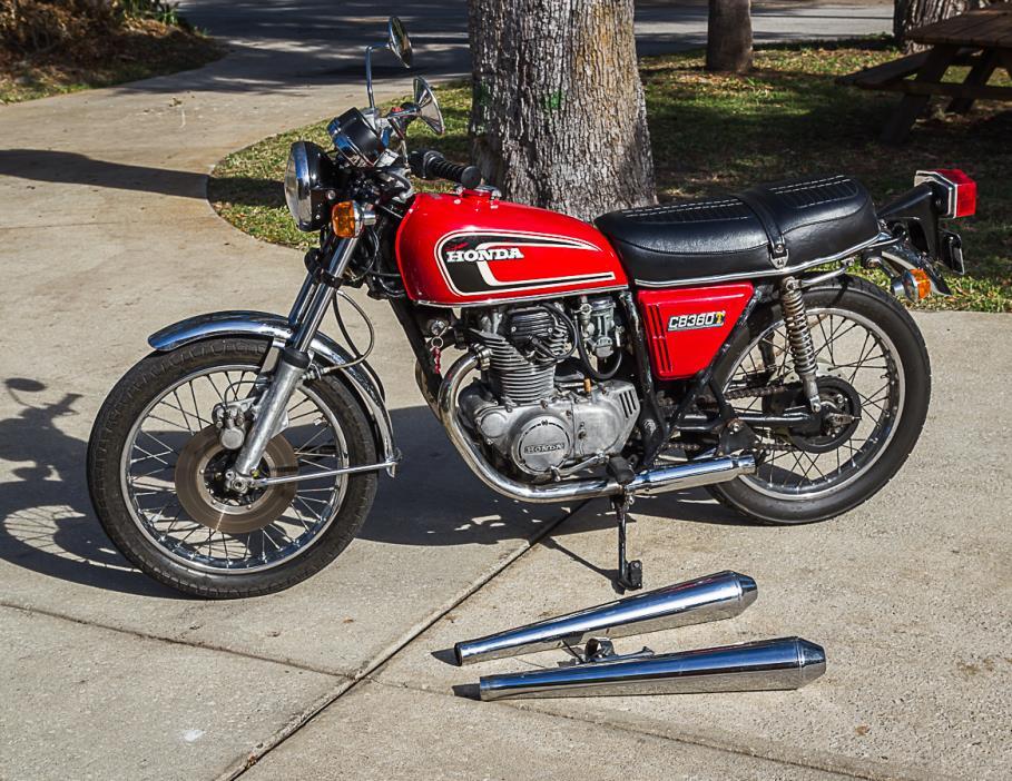 1975 Honda CB 360