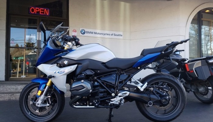 2016 BMW R1200RS DEMO