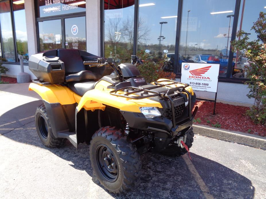 2015 Honda FOURTRAX RANCHER 4X4