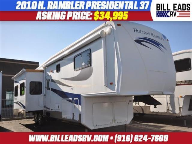 2010 Holiday Rambler Presidental 37