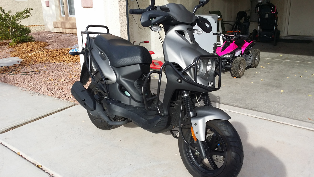 2015 Genuine Scooter Company ROUGHHOUSE 50