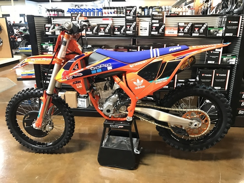 2017 KTM 250 SX-F Factory Edition