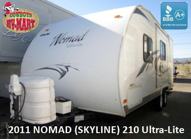 2011 Skyline NOMAD 210