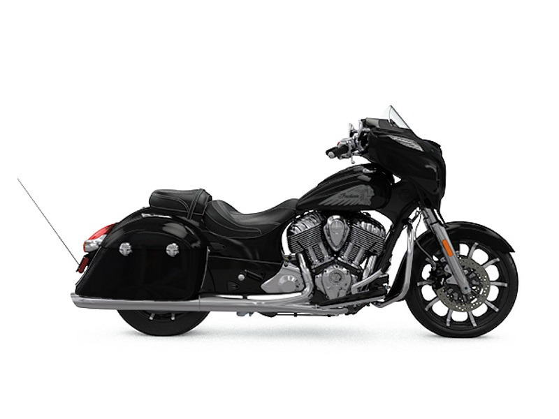 2017 Indian Chieftain Limited Thunder Black