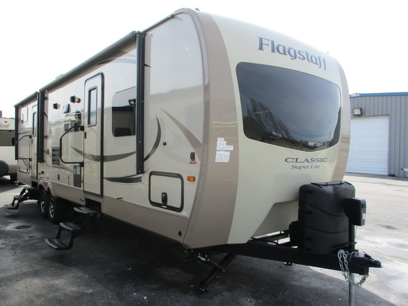 2018 Forest River Flagstaff Classic Super Lite Travel Trailers 831BHDS