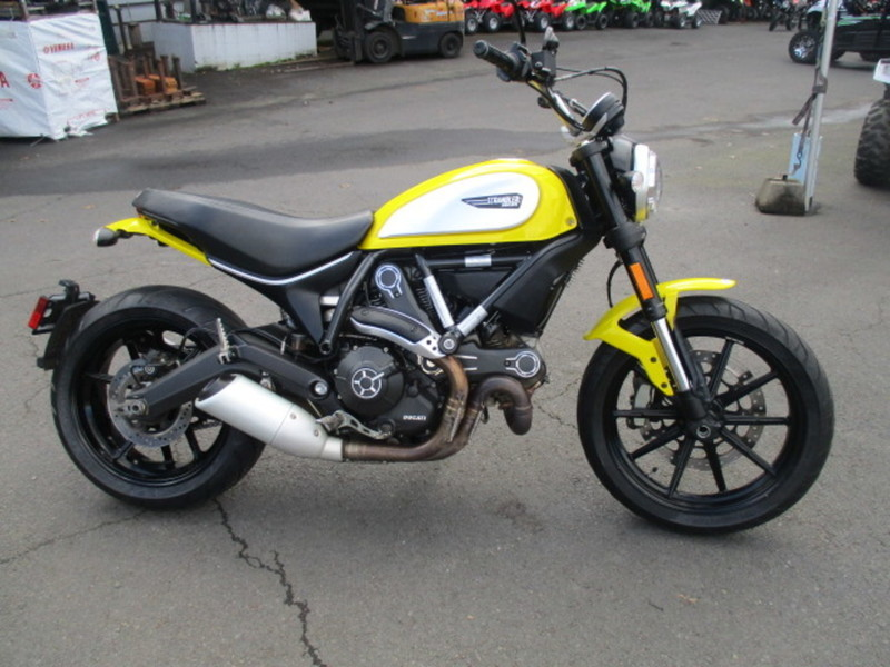 2015 Ducati Scrambler Icon '62 Yellow