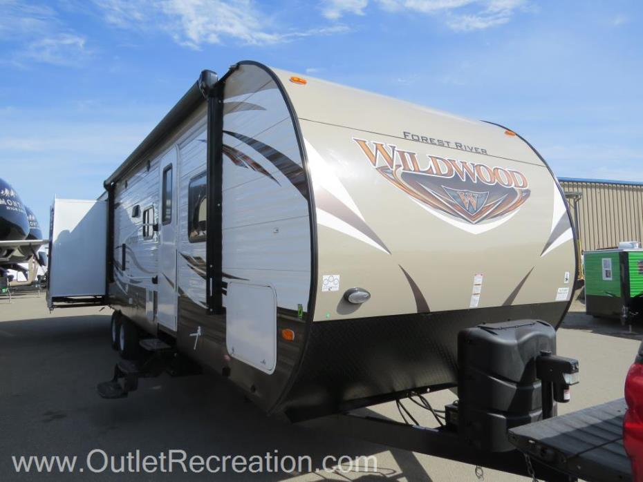 2018 Forest River Wildwood 31KQBTS
