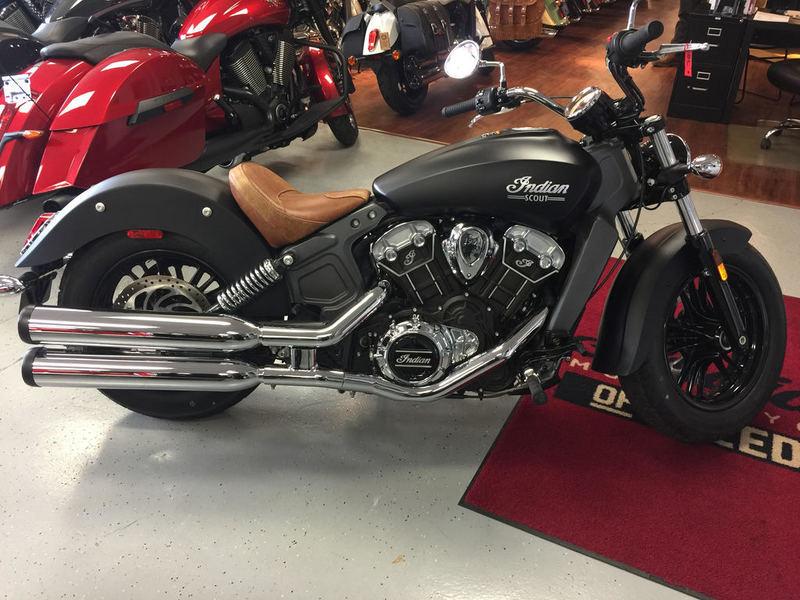 2015 Indian Motorcycle Scout Thunder Black Smoke