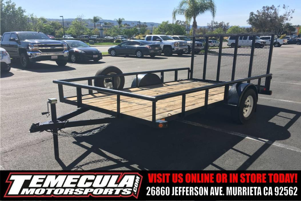 2014 Big Tex Trailers 7X12