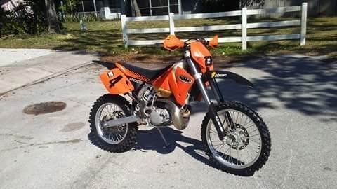 2002 KTM EXC 200