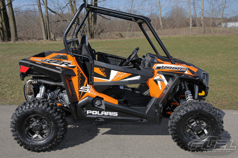 2017 Polaris RZR S 1000 EPS Spectra Orange