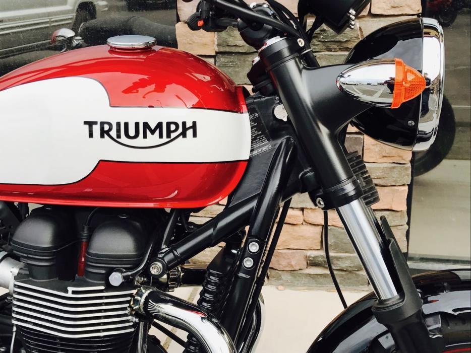2015 Triumph Bonneville Newchurch Special Editio