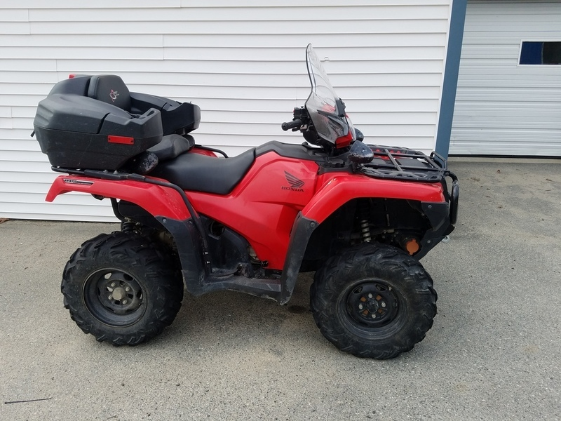 2015 Honda FourTrax Foreman Rubicon 4x4 Automatic DCT