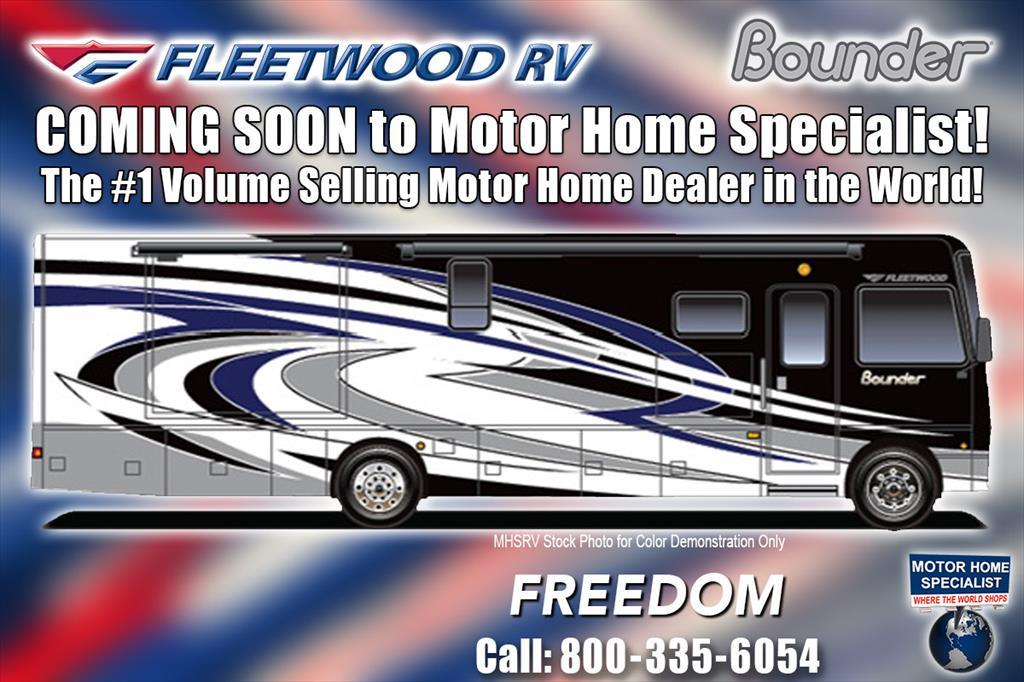 2018 Fleetwood Bounder 36H Bunk Model, Bath & 1/2 RV for Sale W/LX. Pk