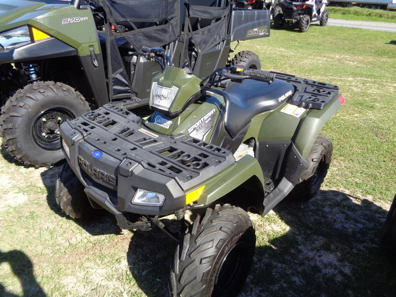 2016 Polaris Sportsman 110 EFI Sage Green