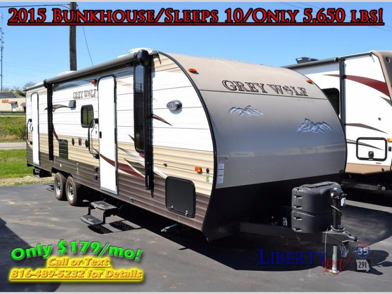 2015 Forest River Rv Cherokee Grey Wolf 26DBH