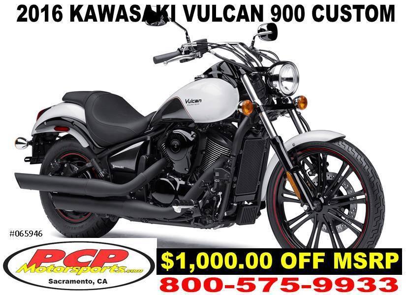 2016 Kawasaki Vulcan 900 Custom