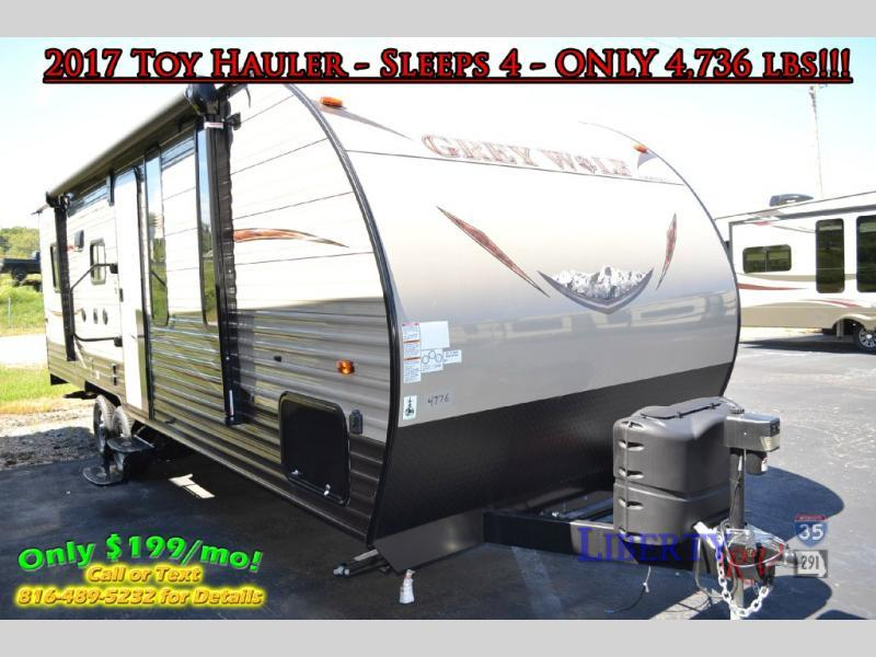 2018 Forest River Rv Cherokee Grey Wolf 22RR