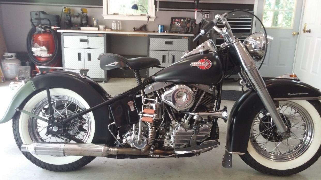 Harley Davidson Panhead motorcycles for sale