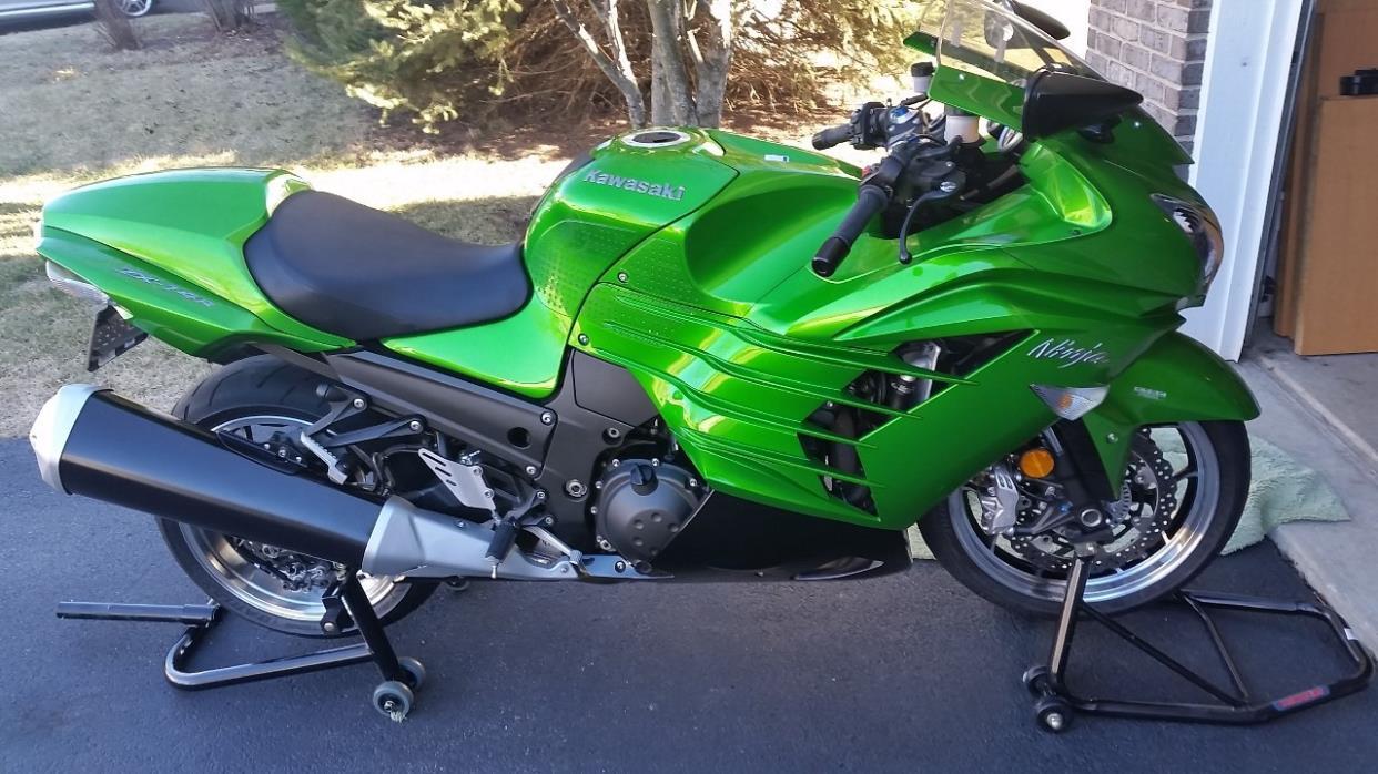 kawasaki ninja zx 14r motorcycles for sale in illinois. Black Bedroom Furniture Sets. Home Design Ideas