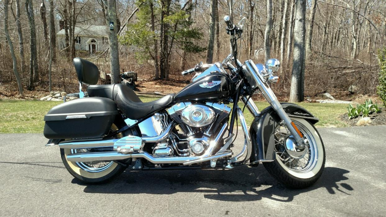 harley davidson softail deluxe motorcycles for sale in massachusetts. Black Bedroom Furniture Sets. Home Design Ideas