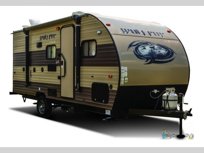 2017 Forest River Rv Cherokee Wolf Pup 16FQ