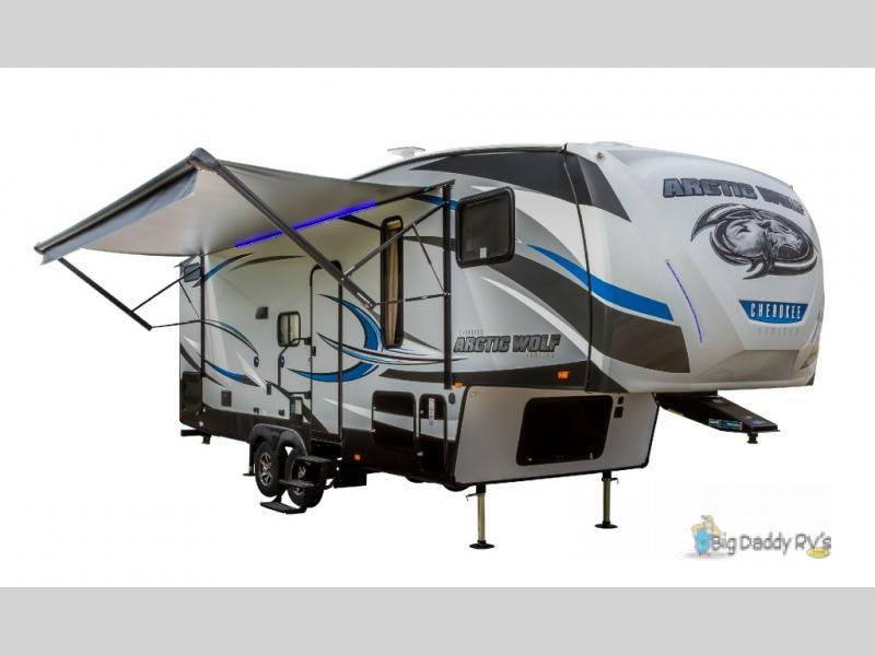 2017 Forest River Rv Cherokee Arctic Wolf 265DBH8