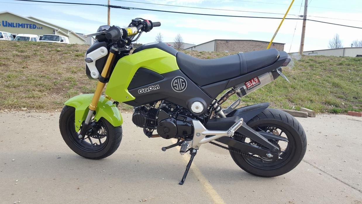Honda grom motorcycles for sale in missouri for Honda grom mpg