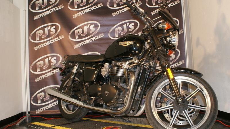 2012 Triumph Bonneville Standard