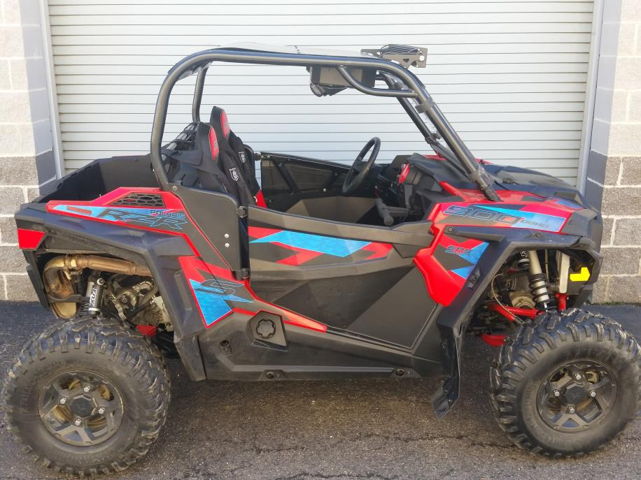 2016 Polaris RZR S 900 EPS - Havasu Red Pearl