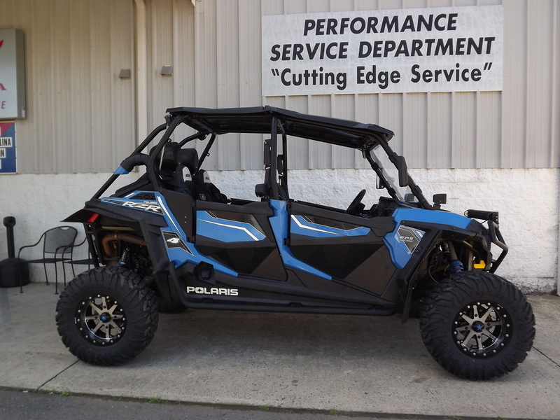 2015 Polaris RZR 4 900 EPS Voodoo Blue