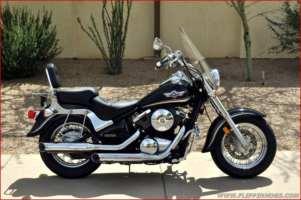 kawasaki vulcan 800 classic motorcycles for sale. Black Bedroom Furniture Sets. Home Design Ideas