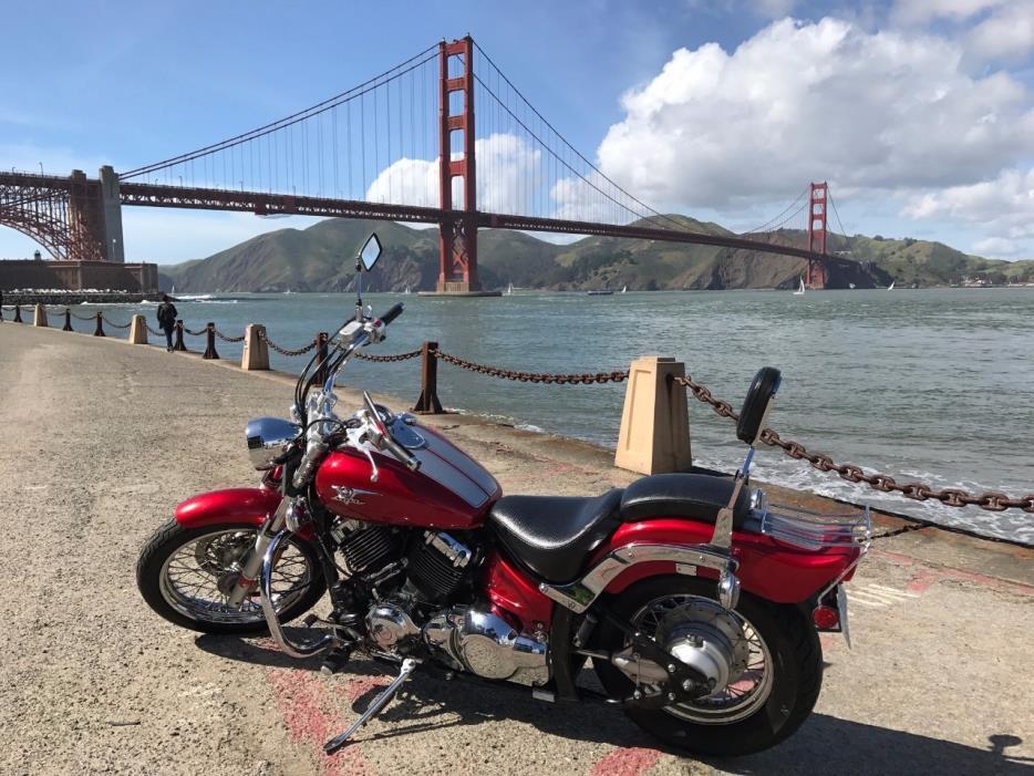yamaha v star 650 motorcycles for sale in california. Black Bedroom Furniture Sets. Home Design Ideas