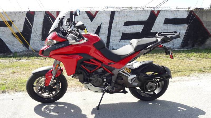 2015 Ducati Multistrada 1200 S Touring Pkg Red