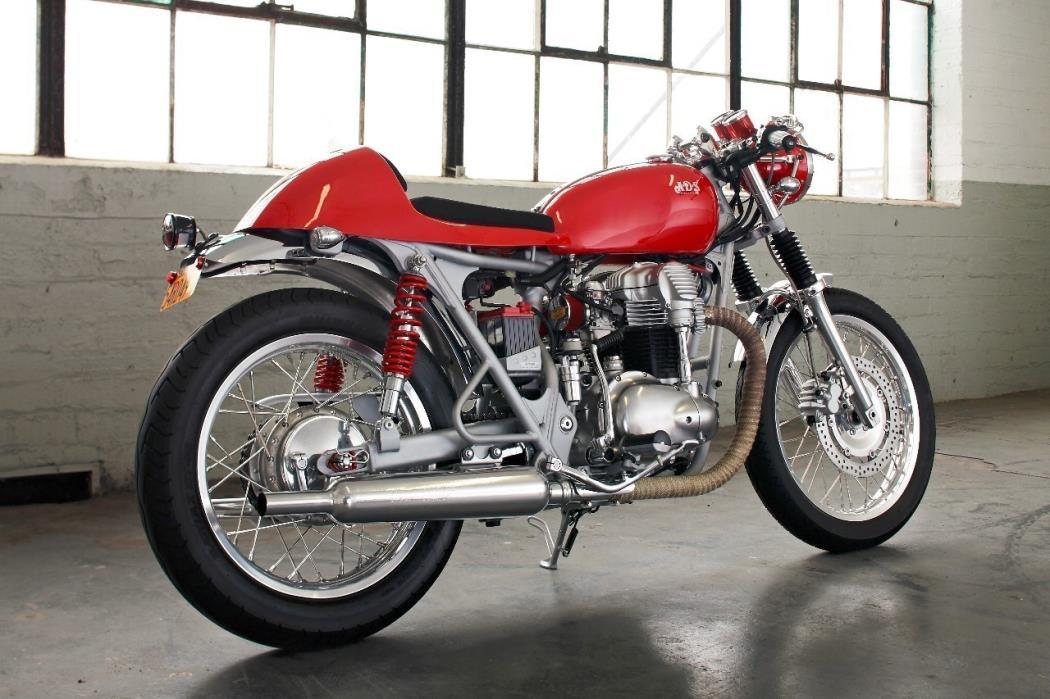 2000 Kawasaki W 650 Cafe Racer