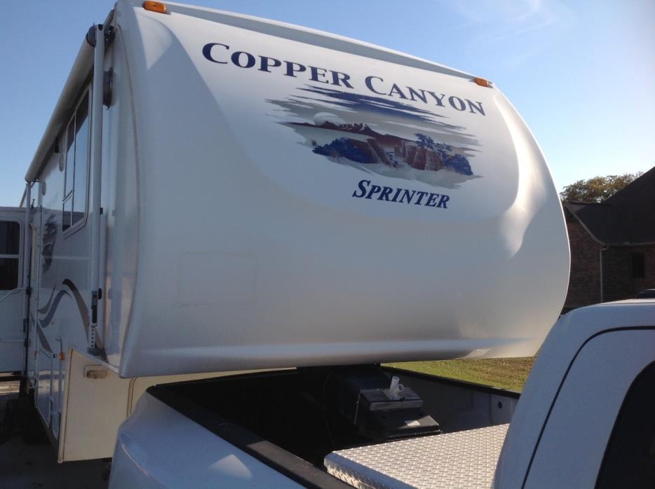 2008 Keystone COPPER CANYON 302FWRL
