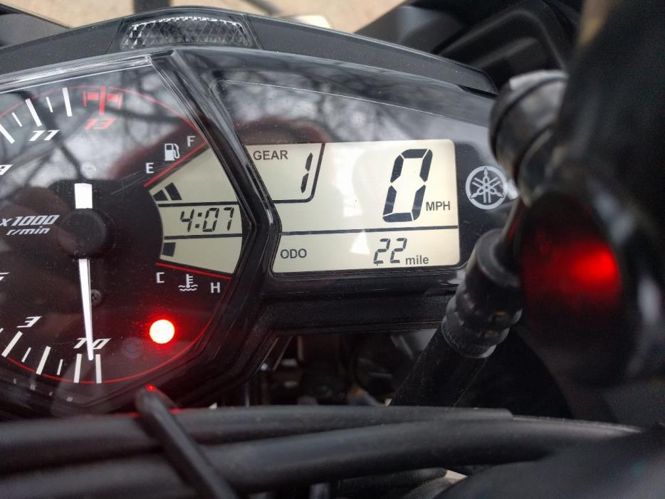 2016 Yamaha YZF R3
