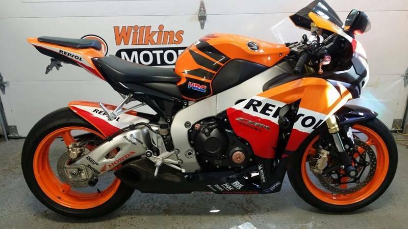 Honda Cbr 1000rr Repsol Motorcycles For Sale