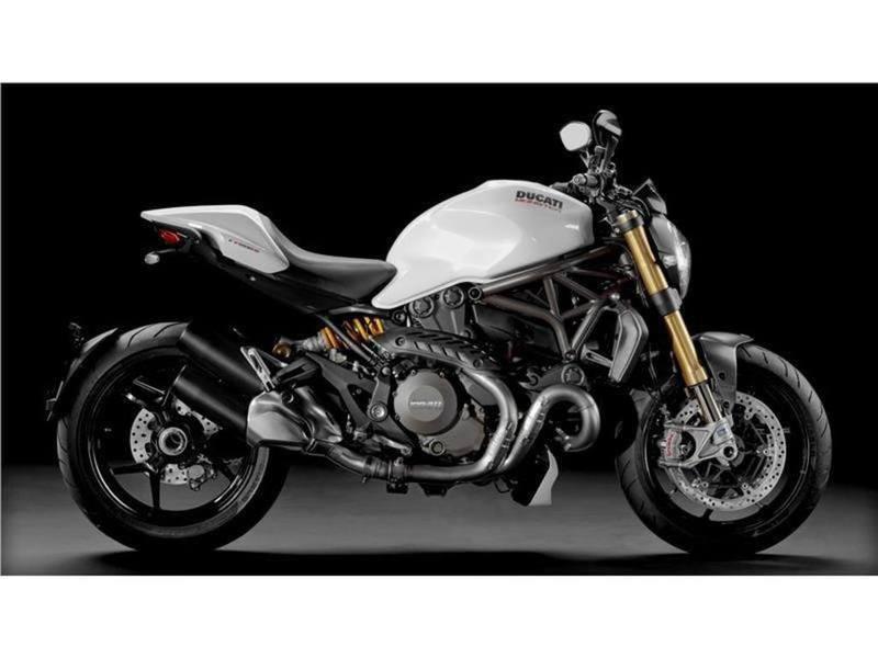 2016 Ducati Monster 1200 S Star White