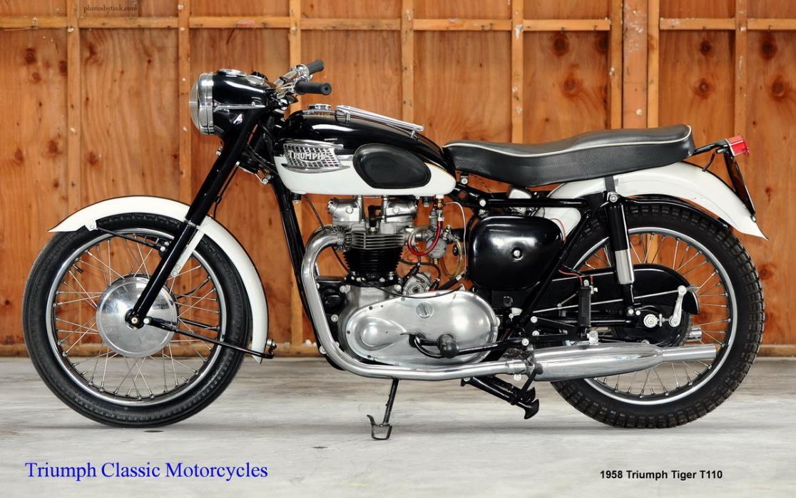 1958 Triumph Tiger T110