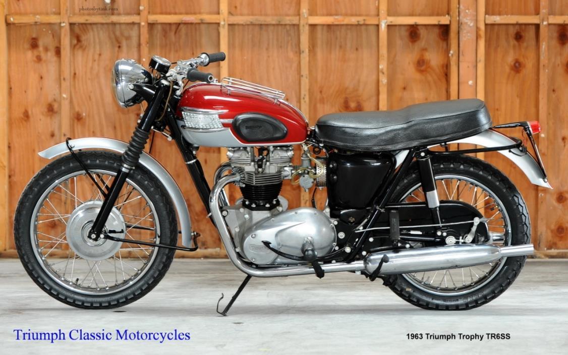 1963 Triumph Trophy TR6SS