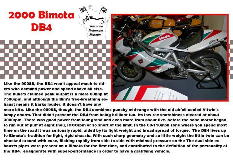 2000 Bimota DB 4