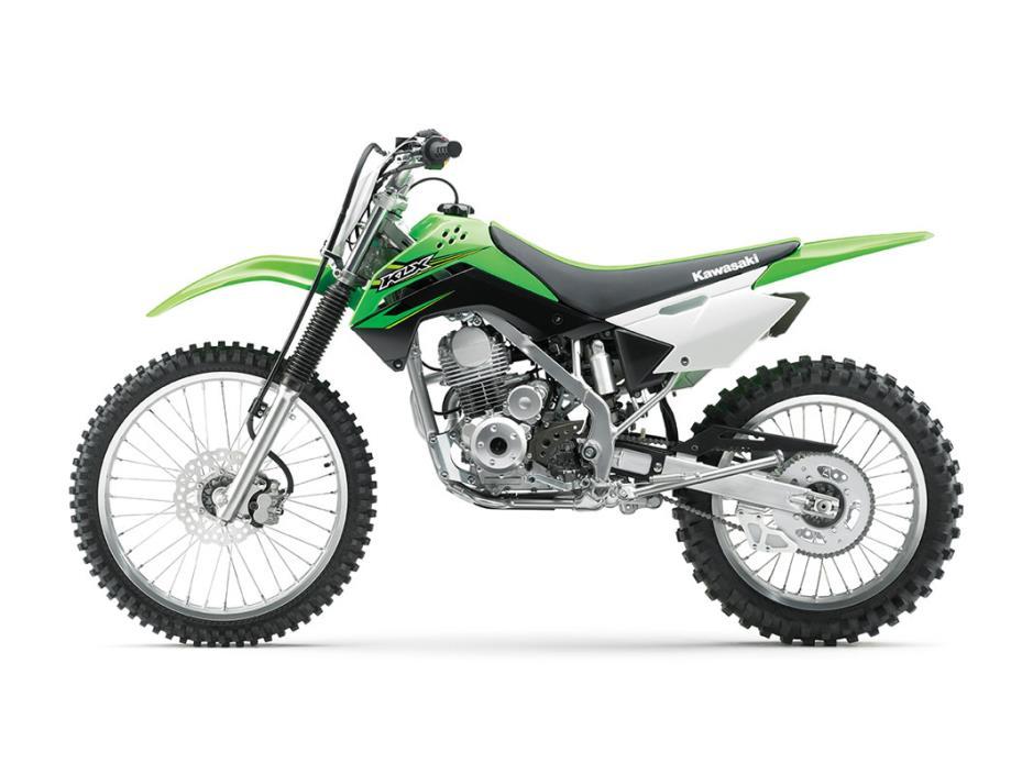 2017 Kawasaki KLX140G, 1