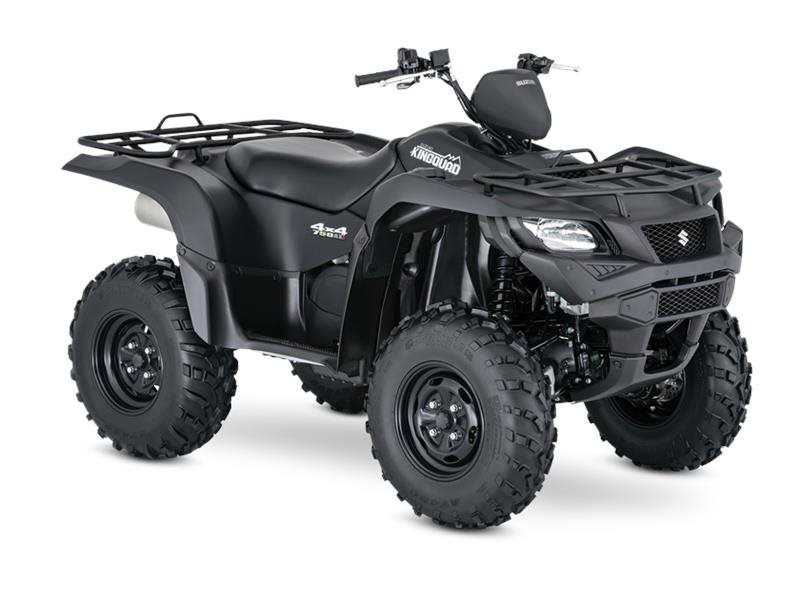 2017 Suzuki Motor Of America Inc. KingQuad 750AXi Power Steering Special Edition