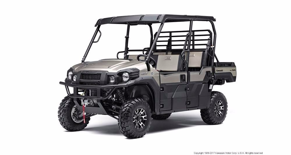 2017 Kawasaki MULE PRO-FXT Ranch Edition